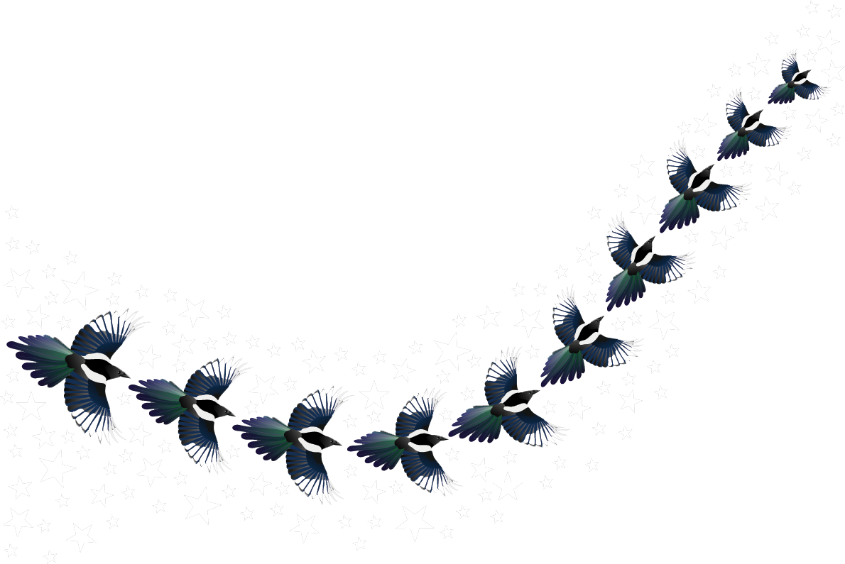 Magpies-and-Stars